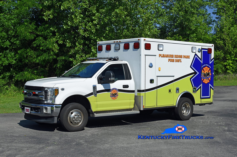 Pleasure Ridge Park Med 2282<br /> 2018 Ford F-350 4x4/Frontline <br /> Kent Parrish photo