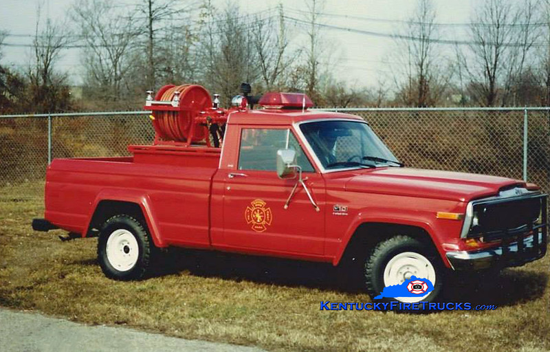 RETIRED<br /> Pleasure Ridge Park Forestry 2273<br /> 1983 Jeep J-10 4x4/Western 250/250<br /> Kent Parrish collection