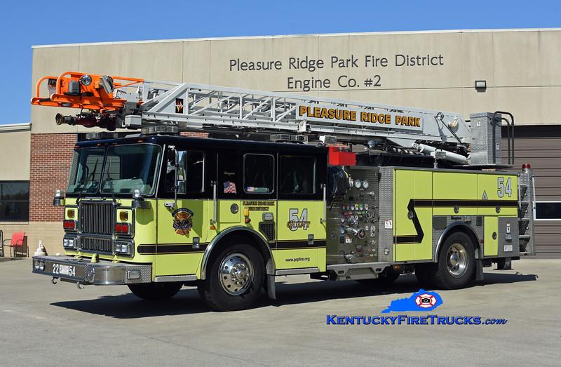 REASSIGNED <br /> Pleasure Ridge Park Quint 2254<br /> x-Quint 2257 <br /> 2008 Seagrave Marauder II 1500/500/75' Meanstick<br /> Kent Parrish photo