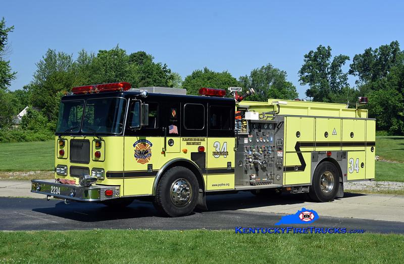Pleasure Ridge Park  Engine 2234<br /> x-Engine 2284 <br /> 2000 Seagrave Marauder 1500/750/50<br /> Kent Parrish photo