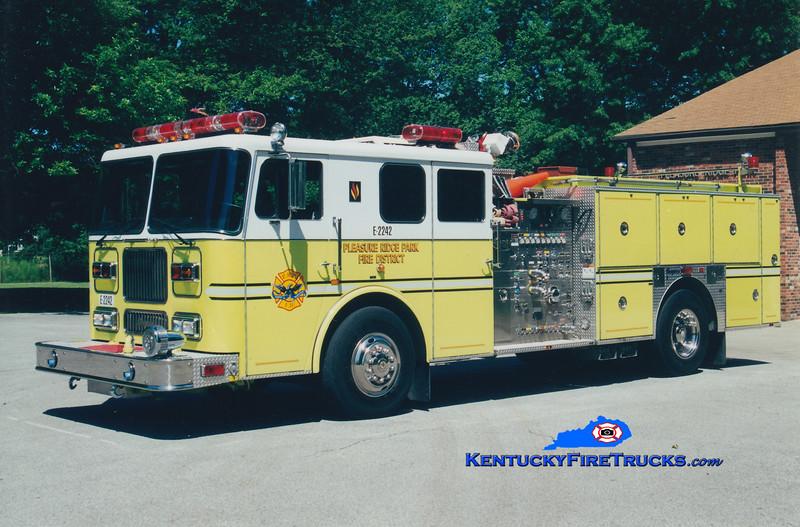 RETIRED <br /> Pleasure Ridge Park  Engine 2242 <br /> 1995 Seagrave Marauder 1500/750/50<br /> Greg Stapleton photo