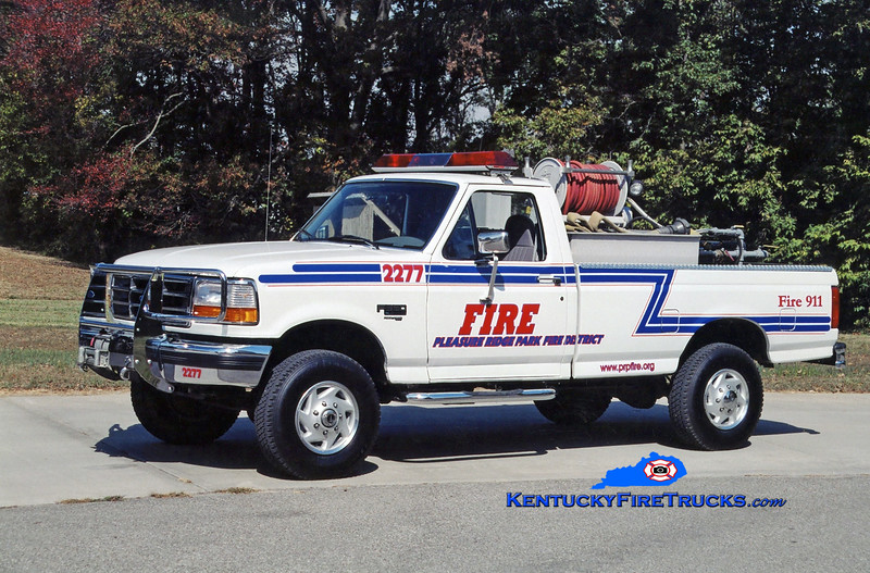 REASSIGNED <br /> Pleasure Ridge Park Forestry 2277<br /> x-South Dixie, KY<br /> 1997 Ford F-350 4x4 250/250<br /> Kent Parrish photo