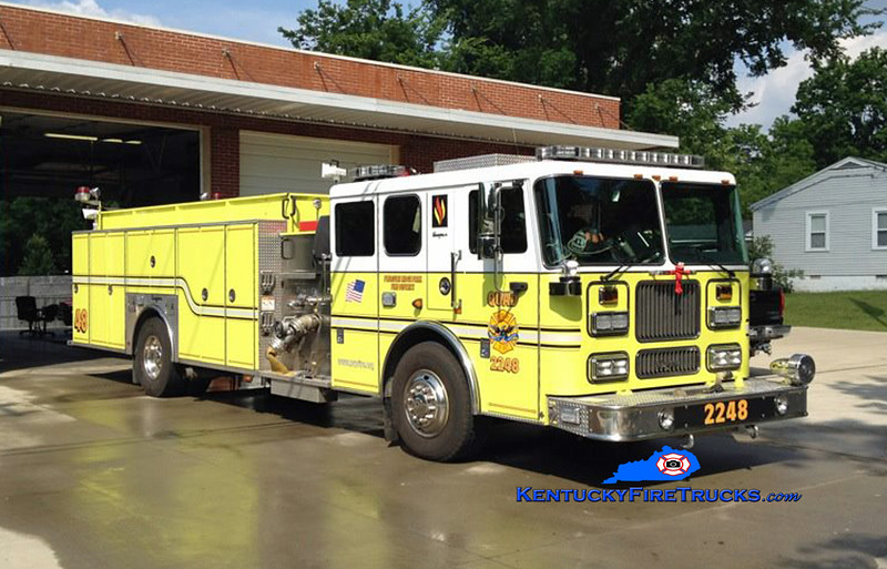 REASSIGNED<br /> Pleasure Ridge Park Quad 2248<br /> x-Quad 2247 <br /> 2000 Seagrave Marauder 1500/500/50<br /> Kent Parrish collection/Troy Hanson