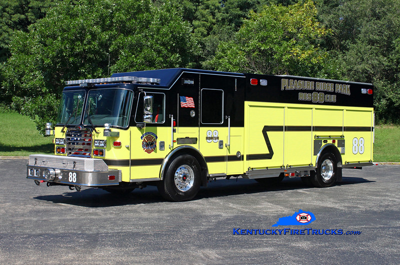 REASSIGNED <br /> Pleasure Ridge Park Rescue 2288<br /> 2016 KME Severe Service 1500/500/50<br /> Kent Parrish photo