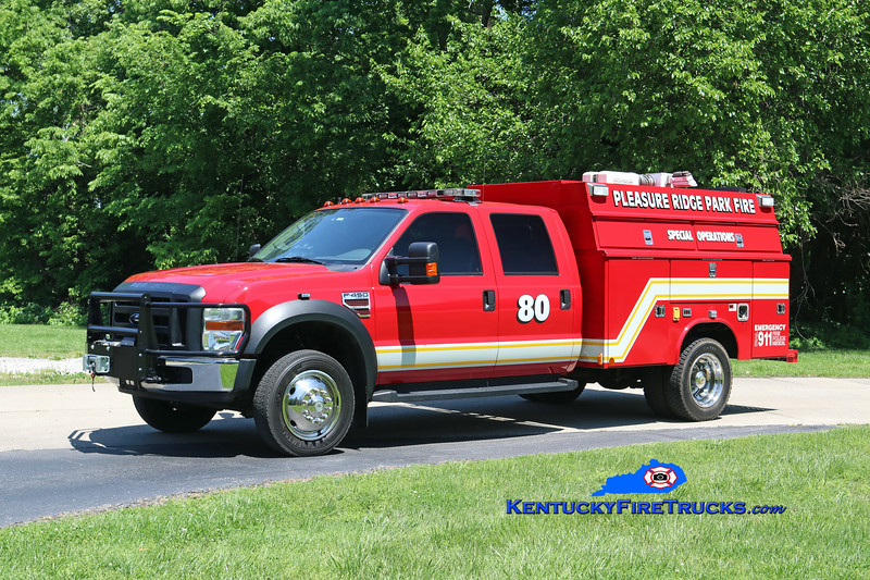 Pleasure Ridge Park Rescue 2280<br /> x-Worthington, KY <br /> 2007 Ford F-450 4x4/Reading-Manning Water Rescue Unit <br /> Kent Parrish photo