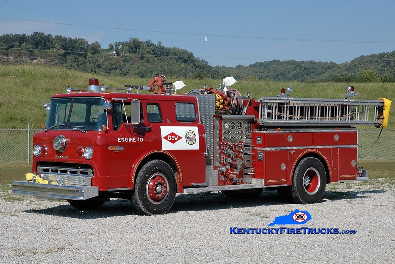 Dow Chemical  Engine 10<br /> 1982 Ford C-8000/Grumman 1250/300/300F<br /> Greg Stapleton photo