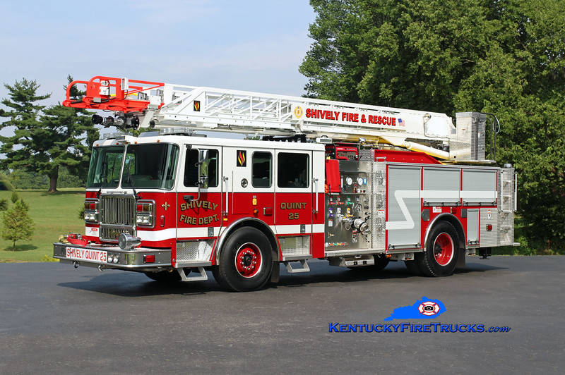 Shively  Quint 25<br /> 2016 Seagrave Marauder II Meanstick 1500/500/75'<br /> Kent Parrish photo