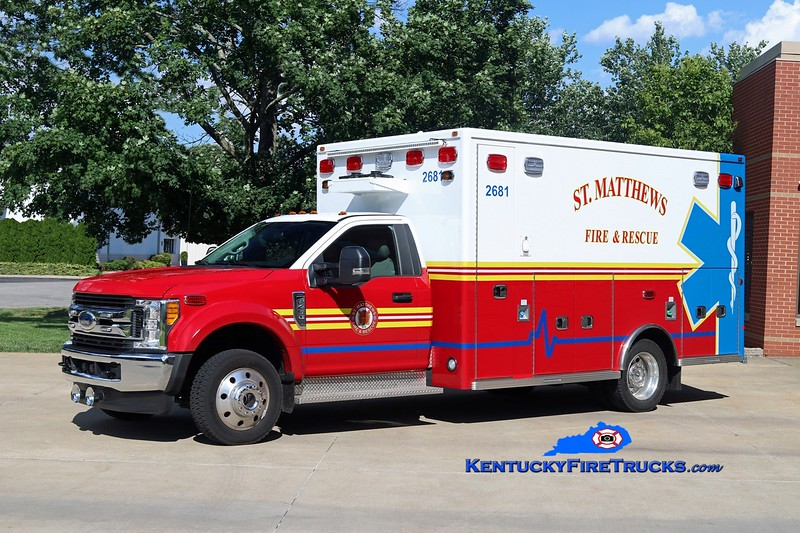 St Matthews Med 2681 <br /> 2017 Ford F-450 4x4/Lifeline <br /> Kent Parrish photo