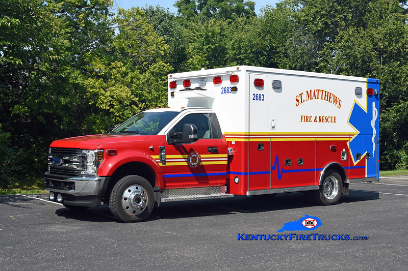 St Matthews Med 2683 <br /> 2018 Ford F-450 4x4/Lifeline <br /> Kent Parrish photo