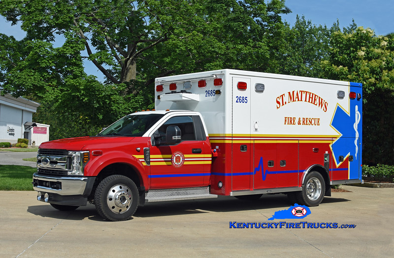 St Matthews Med 2685 <br /> 2019 Ford F-450 4x4/Lifeline <br /> Kent Parrish photo