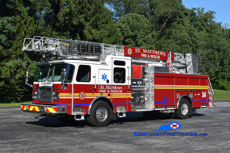 St. Matthews Quint 2654 <br /> 2020 E-One Typhoon 1500/500/75' <br /> Kent Parrish photo