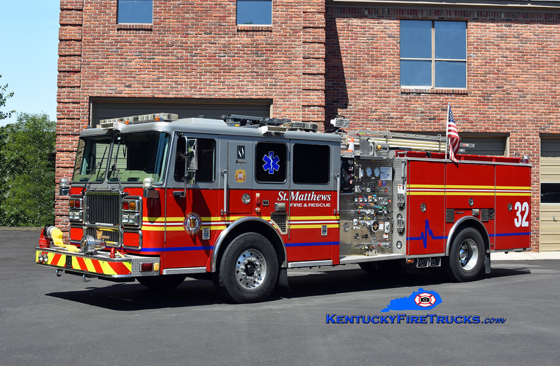 St. Matthews Reserve Engine 2632<br /> x-Lyndon, KY<br /> 2007 Seagrave Marauder II 1500/500/20<br /> Kent Parrish photo