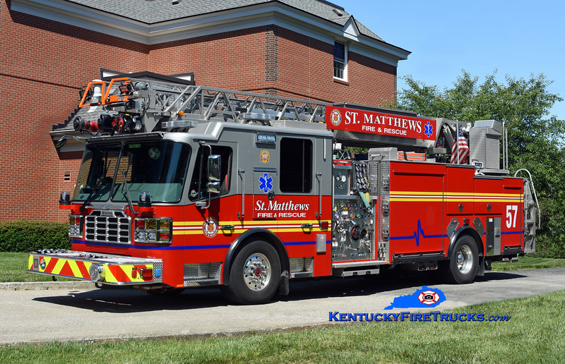 St. Matthews Quint 2657<br /> x-Lyndon, KY <br /> 2017 Ferrara Inferno 1500/500/20/77' <br /> Kent Parrish photo