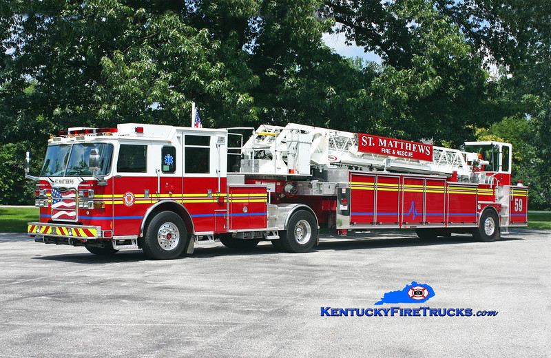 St Matthews  Truck 2659<br /> 2009 Pierce Arrow XT 100' <br /> Kent Parrish photo