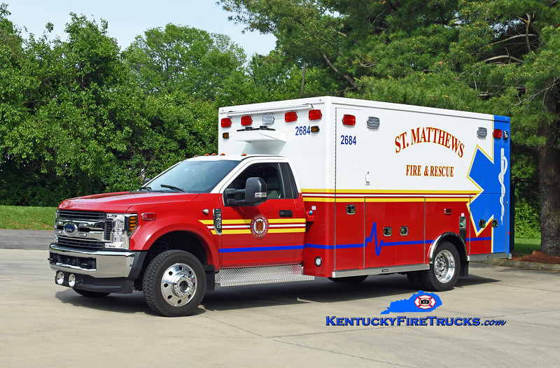 St Matthews Med 2684 <br /> 2019 Ford F-450 4x4/Lifeline <br /> Kent Parrish photo