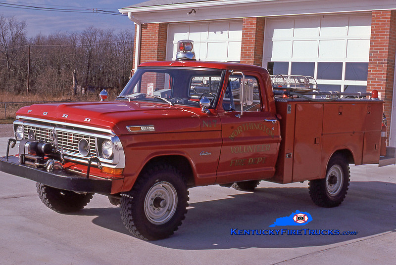 RETIRED<br /> Worthington Rescue 1887<br /> 1971 Ford F-250 4x4/FD 250/150<br /> Kent Parrish collection