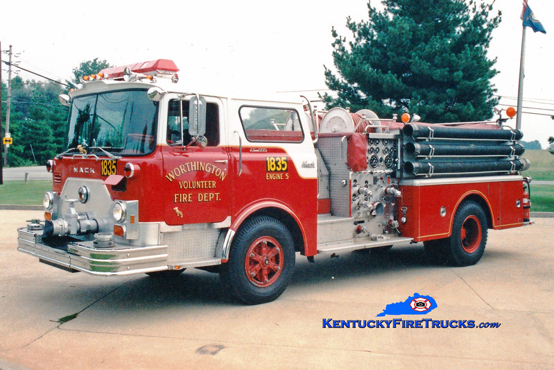 <center> RETIRED <br> Worthington Engine 1835  <br> 1976 Mack CF 1250/500  <br> Greg Stapleton photo </center>