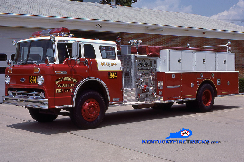 RETIRED <br /> Worthington Quad 1844<br /> 1985 Ford C-8000/1985 Summit/1969 American 1000/400<br /> Kent Parrish collection