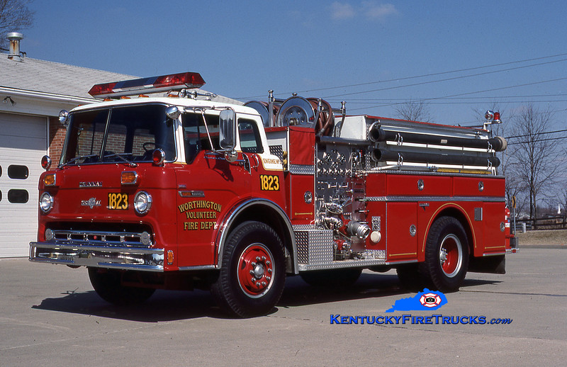RETIRED <br /> Worthington Engine 1823 <br /> 1984 Ford C-8000/Grumman 1000/750<br /> Kent Parrish collection