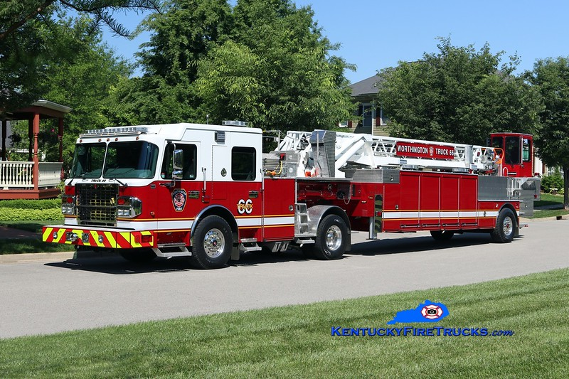 NOW WITH ANCHORAGE MIDDLETOWN <br /> Worthington Truck 1866<br /> 2017 Spartan Gladiator/Smeal/LTC 105' <br /> Kent Parrish photo