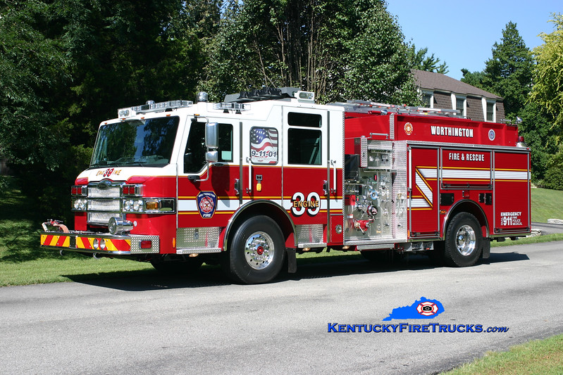 <center> NOW WITH ANCHORAGE MIDDLETOWN  <br> Worthington Engine 1839 <br> 2010 Pierce Velocity 1500/750/30 <br> Kent Parrish photo </center>