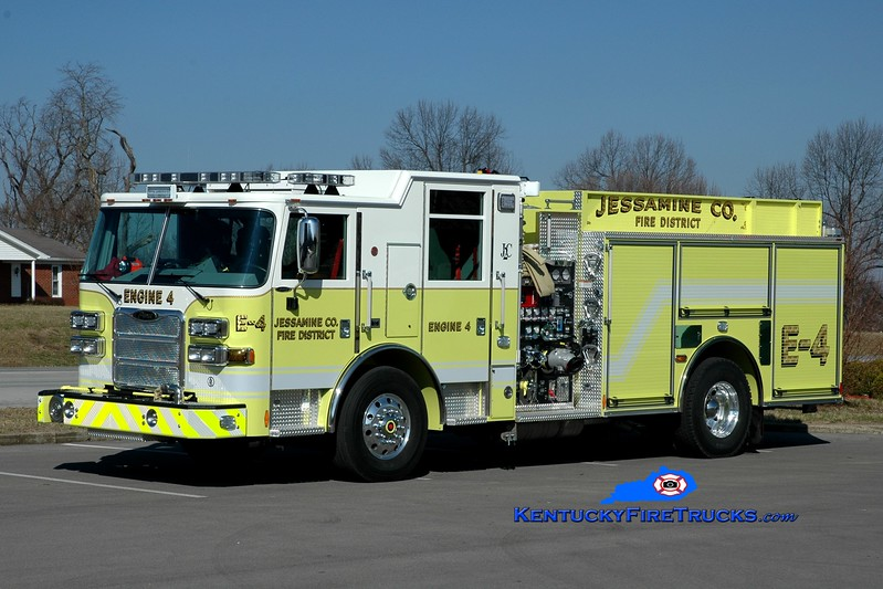 <center> Jessamine County  Engine 4 <br> 2013 Pierce Arrow XT 1500/1000/30 <br> Greg Stapleton <br> </center>