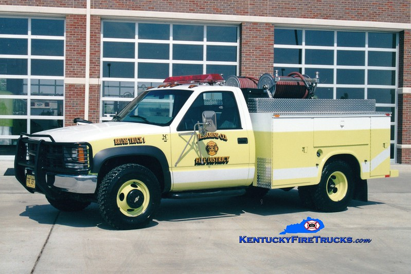 <center> RETIRED <br> Jessamine County  Brush 1 <br> 2000 Chevy 4x4/Mertz 250/250 <br> Greg Stapleton photo <br> </center>