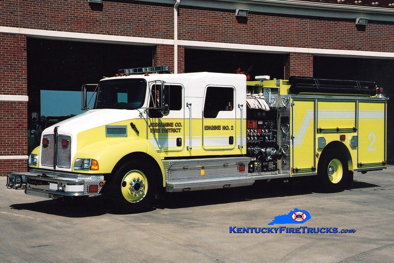 <center> Jessamine County  Engine 2 <br> 2007 Kenworth T-300/Pierce 1250/1000/30 <br> Greg Stapleton <br> </center>