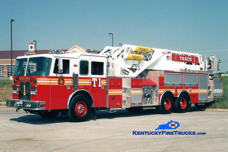 <center> Nicholasville  Truck 1 <br> 2002 Excel 1750/250/95' <br> Greg Stapleton photo <br> </center>