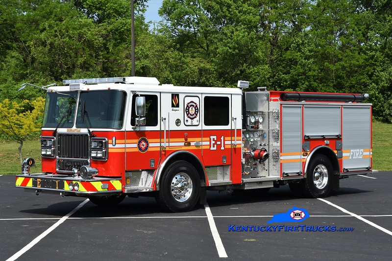 Nicholasville  Engine 1<br /> 2018 Seagrave Marauder II 1500/750<br /> Kent Parrish photo