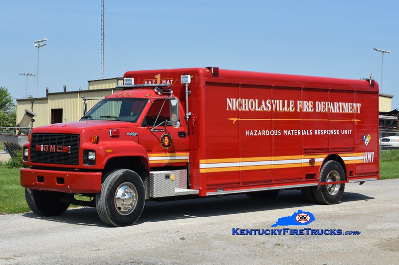 Nicholasville  Hazmat 1<br /> 2004 GMC/Hackney<br /> Greg Stapleton photo