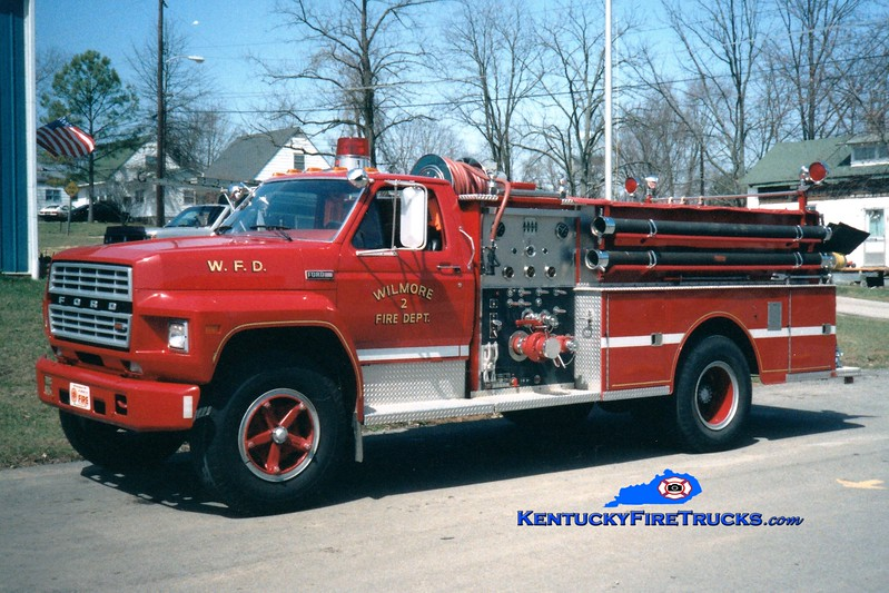 <center> RETIRED <br> Wilmore  Engine 2 <br> 1982 Ford F/Jaco 1000/750 <br> Greg Stapleton photo </center>