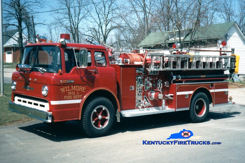 <center> RETIRED <br> Wilmore  Engine 1 <br> 1969 Ford C/American LaFrance 750/500 <br> Greg Stapleton photo </center>