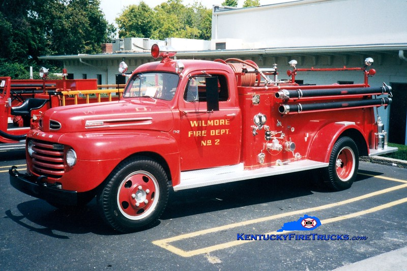 <center> Wilmore  Antique <br> 1949 Ford F/American 500/500 <br> Greg Stapleton photo </center>