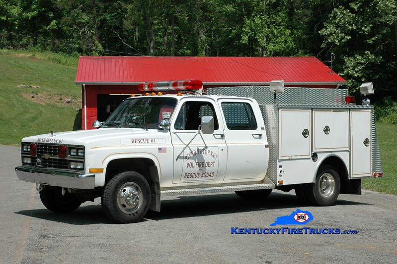 <center> River-Tutor Key  Rescue 701  <br> 1989 Chevy K30/4-Guys  <br> Greg Stapleton photo </center>