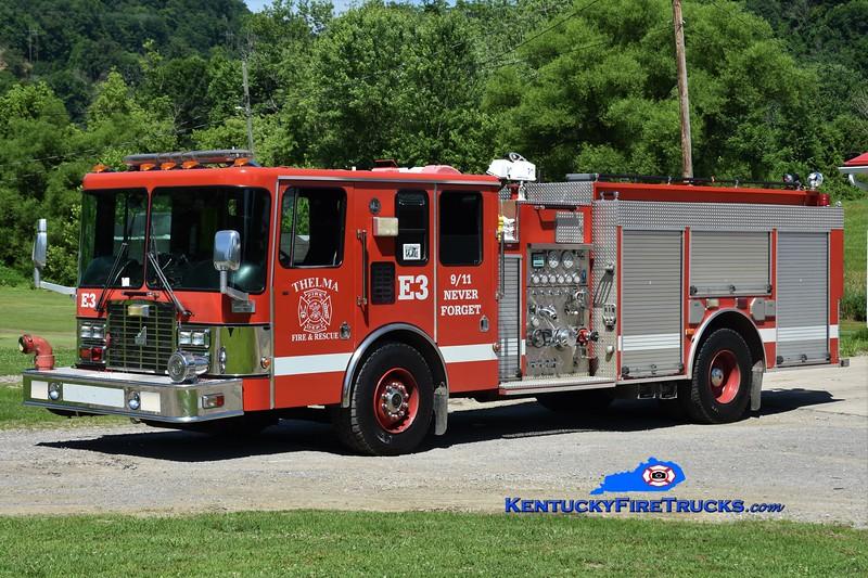Thelma  Engine 3<br /> x-Lexington, KY<br /> 1997 HME/Smeal 1250/500<br /> Greg Stapleton photo