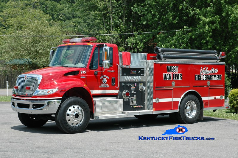 <center> West Van Lear  Engine 915  <br> 2009 International 4400/Rosenbauer-Central 1250/1000 <br> Greg Stapleton photo </center>