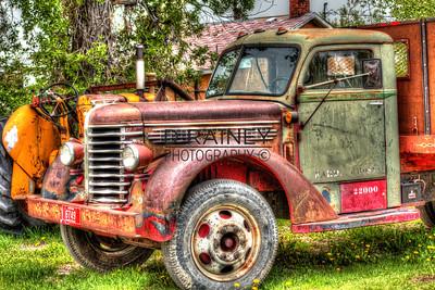 Montana Vintage Truck