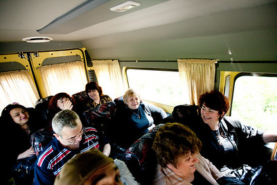 This is my crew.  We are in the bus on the way to the Kenny G concert in Sofia and as you can see everyone is pretty excited! Looking back on things I am not sure either of us (my friends or myself) were really prepared for what we were getting into. The ladies I work with saw that Kenny G was coming to Sofia one day online and said something about it to me ( I suppose because he speaks English and I speak English) and then I responded warmly (thinking they already love Kenny G). The ensuing whirlwind of dreams and hopes and fears carried us away to the point where we got this little group together and actually bought tickets. I fully understand that Kenny G shows don't exactly earn you cool point but there was no was I was going to pass up such a magical opportunity...