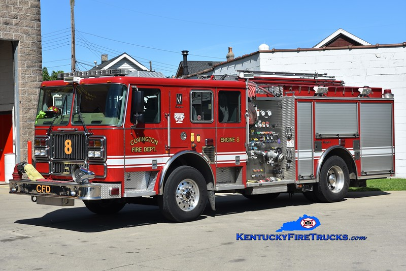 Covington  Pumper 8<br /> x-Pumper 1<br /> 2008 Seagrave 1500/500<br /> Greg Stapleton photo