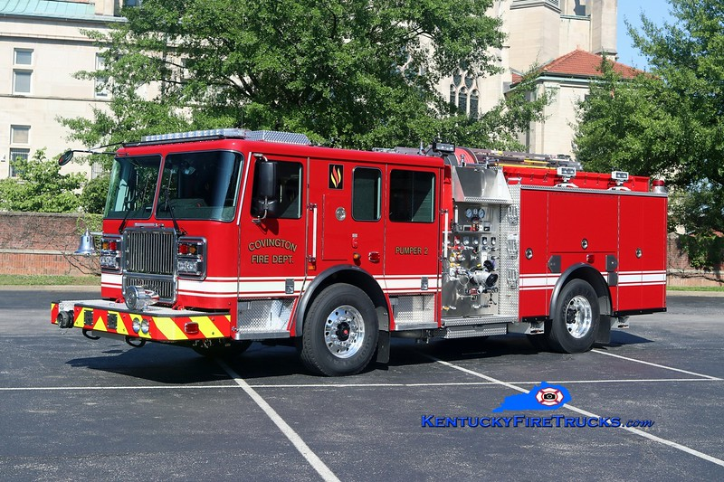 Covington  Pumper 2<br /> 2017 Seagrave Marauder II 1500/500<br /> Kent Parrish photo