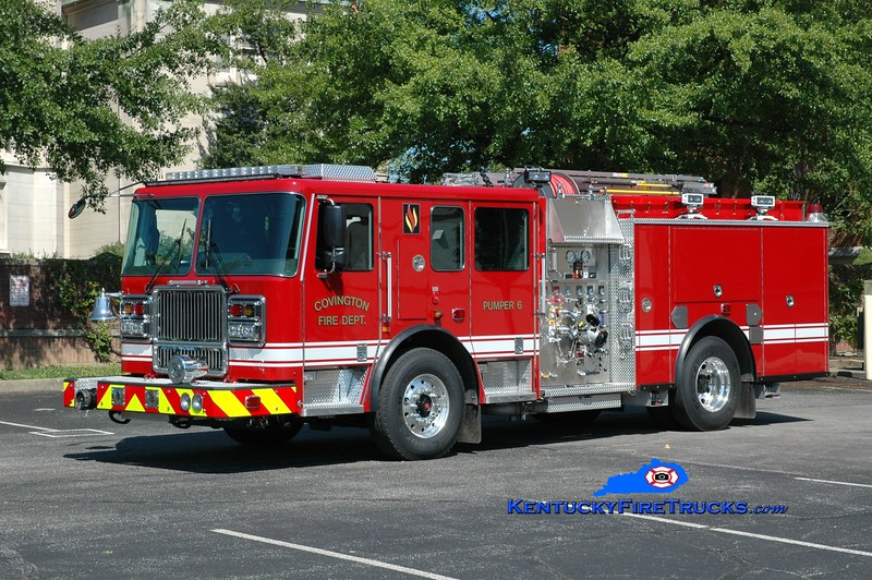 Covington  Pumper 6<br /> 2017 Seagrave Marauder II 1500/500<br /> Greg Stapleton photo