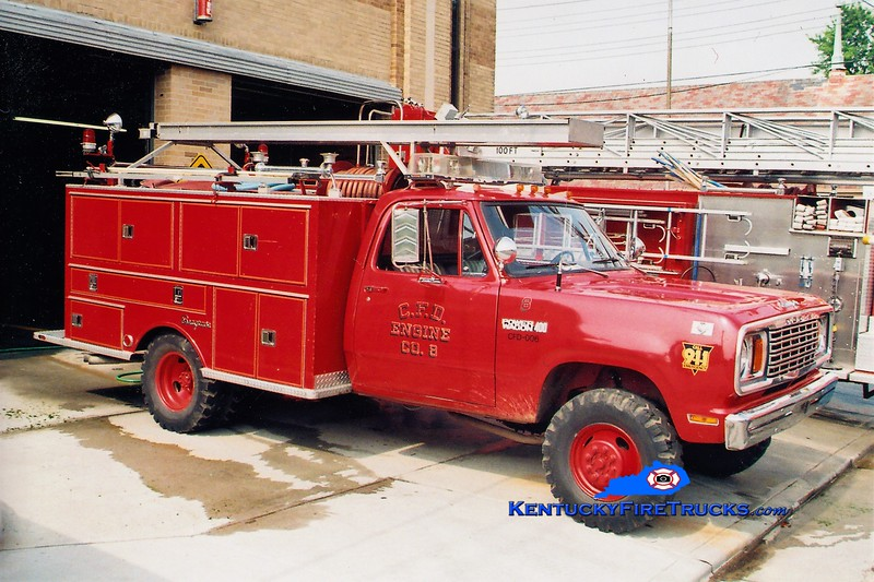 RETIRED <br /> Covington  Pumper 8<br /> 1977 Dodge/Seagrave 400/300<br /> Greg Stapleton photo