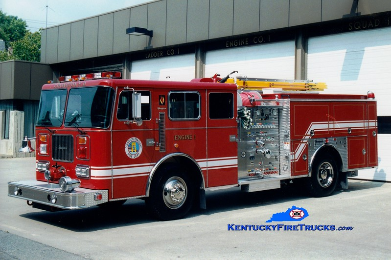 <center> RESERVE <br> Covington  Pumper 1 <br> 1996 Seagrave JB 1500/500  <br> Greg Stapleton photo </center>