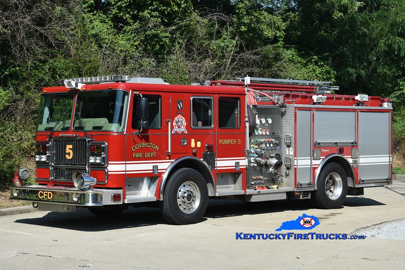 Covington Pumper 5 <br /> x-Pumper 6 <br /> 2008 Seagrave Marauder II 1500/500 <br /> Kent Parrish photo