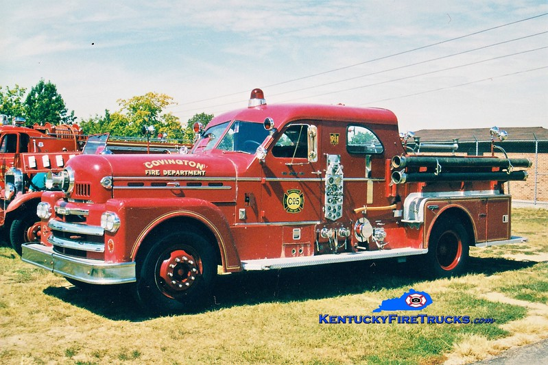 RETIRED <br /> Covington  Pumper 5<br /> x-Pumper 6 <br /> 1961 Seagrave 1000/200<br /> Greg Stapleton photo