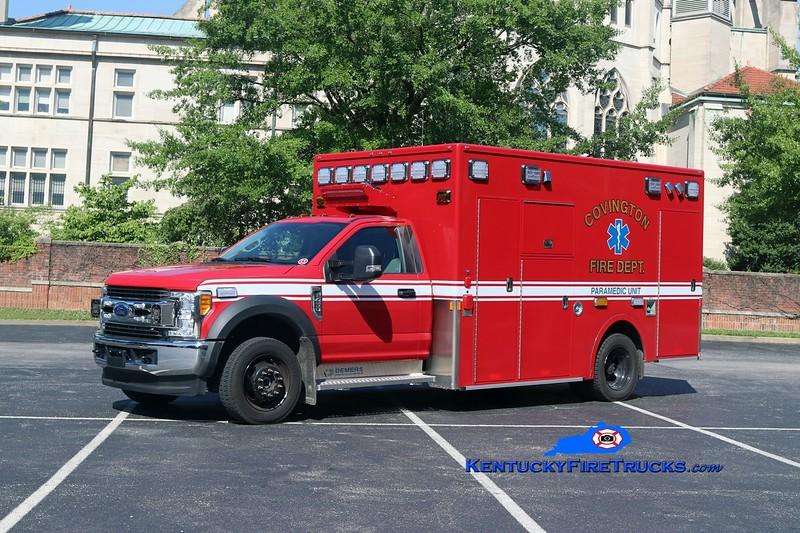 Covington  Ambulance 1<br /> 2017 Ford F-450 4x4/Demers<br /> Kent Parrish photo