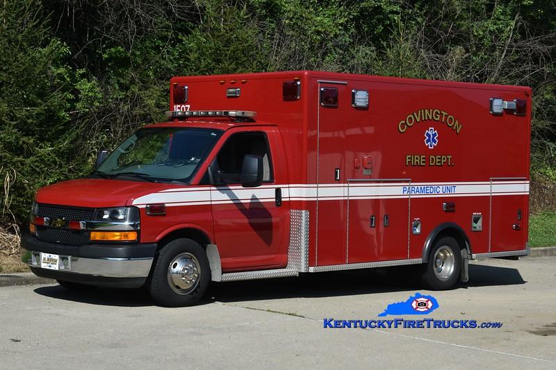 Covington  Ambulance 3<br /> 2015 Ford E-350/PL Custom<br /> Greg Stapleton photo