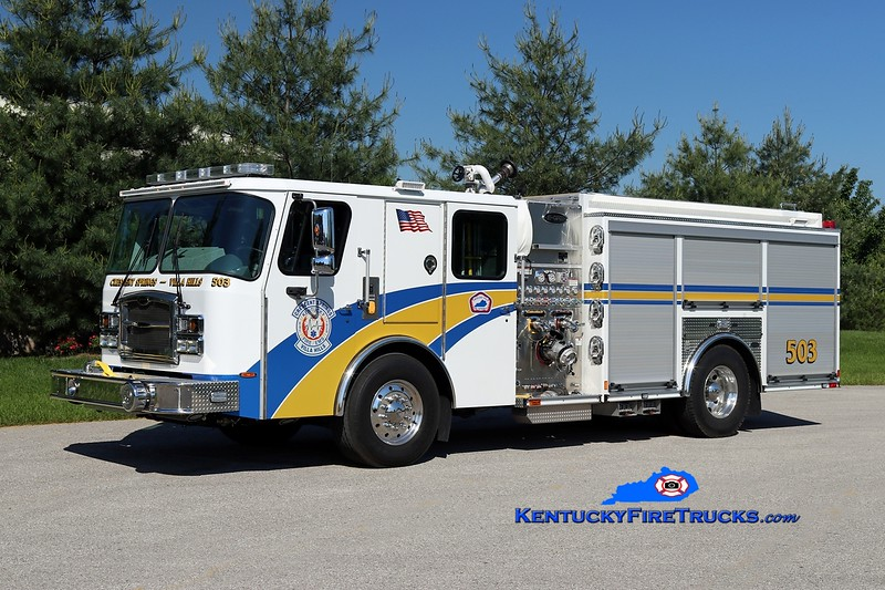 Crescent Springs-Villa Hills  Engine 503<br /> 2016 E-One Typhoon 1500/780<br /> Kent Parrish photo