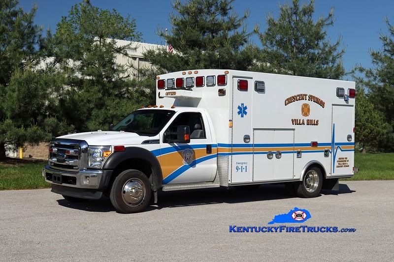 Crescent Springs-Villa Hills Squad 516<br /> x-Squad 514 <br /> 2013 Ford F-450 4x4/Braun<br /> Kent Parrish photo